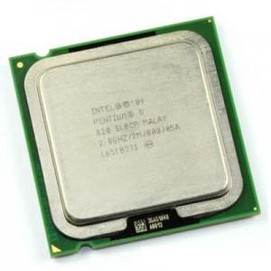 018 Intel 775 Pentium  D 2,8_820